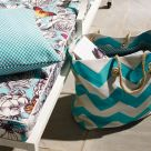 Breeze Chevron Outdoor Fabric