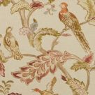 Early Birds Linen Fabric