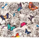 Butterfly Garden Printed Cotton Fabric