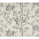 Tibouchina Embroidered Curtain Fabric