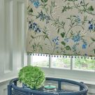 Blue Embroidery Fabric