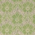 Arbour Cotton Fabric Green Grey Floral