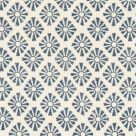 Blue and White Cotton Fabric