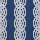 Braid Embroidery Fabric Navy Blue