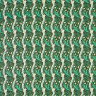Daffodil Olive Green Floral Fabric