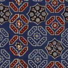 Dark Blue and Red Wallpaper