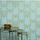 Deer Damask Wallpaper