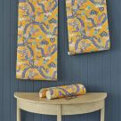 Double Dragon Yellow and Blue Wallpaper