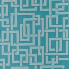 Enigma Wallpaper Vardo Oval Room Blue