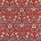 William Morris Eye Bright fabric in Red