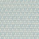 Flower Blue and Cream Fabric