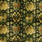 Green and Brown Velvet Fabric