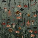 Aquatic Life Mural Wallpaper