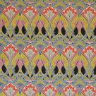 Ianthe Pink Yellow Blue Red Cotton Velvet Fabric