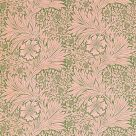 Marigold Fabric Olive Green Pink