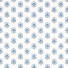 Milford Fabric Blue Small Floral Print