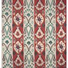 Khotan Embroidered Fabric Red