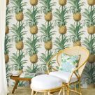 Pineapple Wallpaper for Walls
