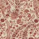 Red Paisley Upholstery Fabric