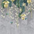 Trailing Orchid Wall Panel