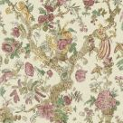 Wild Thing Pink and Cream Wallpaper