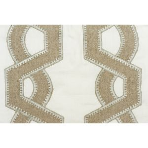 Lana Embroidered curtain Fabric