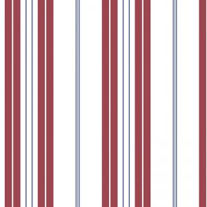 Deauville Multi Stripe Wallpaper