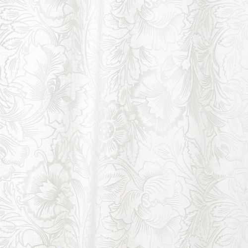 Pure Poppy Embroidery Fabric