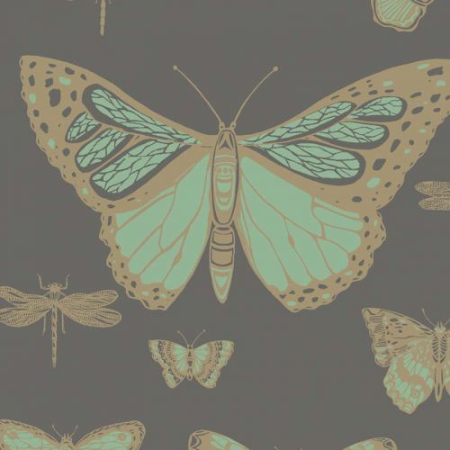 Butterflies & Dragonflies Wallpaper