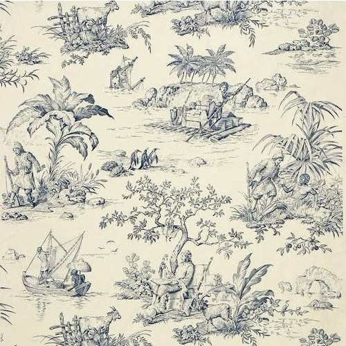 Robinson Crusoe Fabric