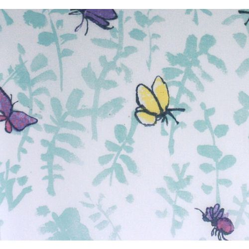 Butterfly Meadow Voile Fabric