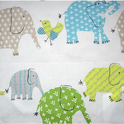 Elephant and Castle Cotton Fabric