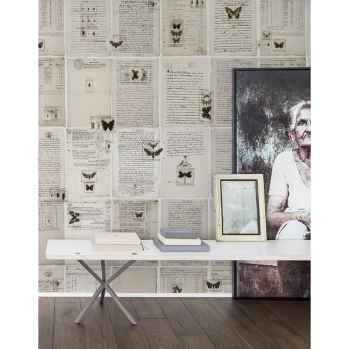The Butterfly Library Wall Panel