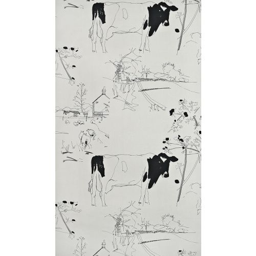 Countryside Toile Wallpaper