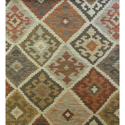 Kilim Check Upholstery Fabric