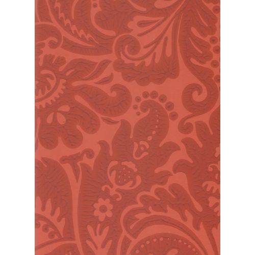 Silvergate Red Damask Wallpaper Country House Farrow Ball