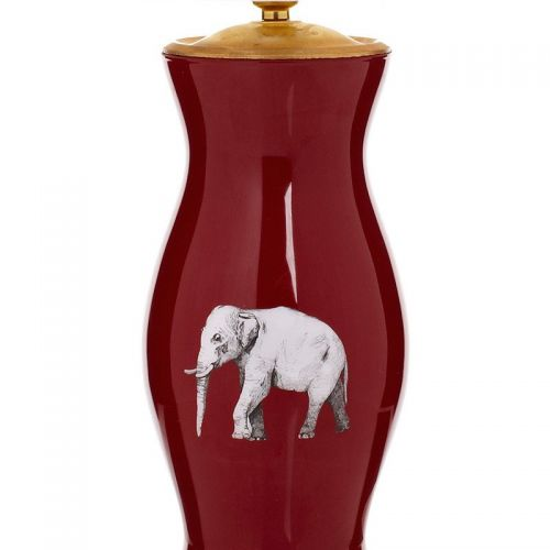 The Elephant in the Room Table Lamp