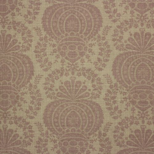 Margot Mauve Linen Fabric