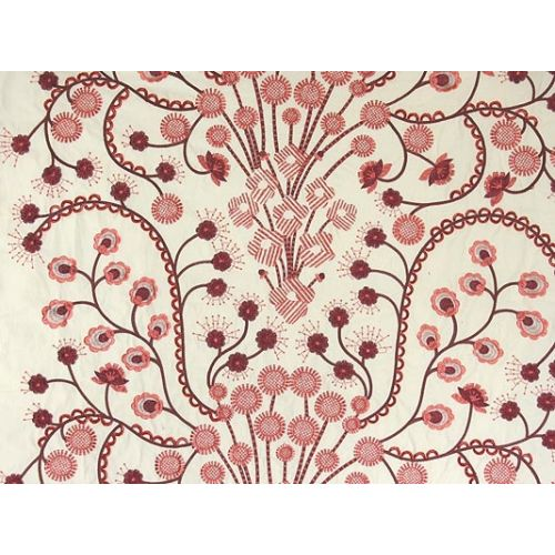 Firework Flowers Embroidery Fabric