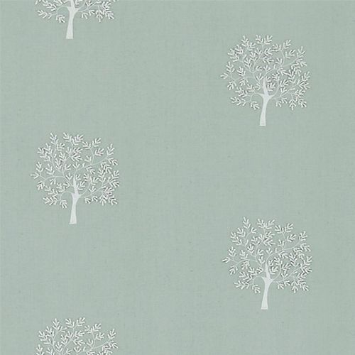 Woodland Tree Embroidery Fabric