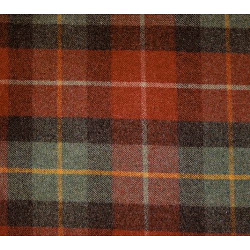 Maple Check Wool Fabric