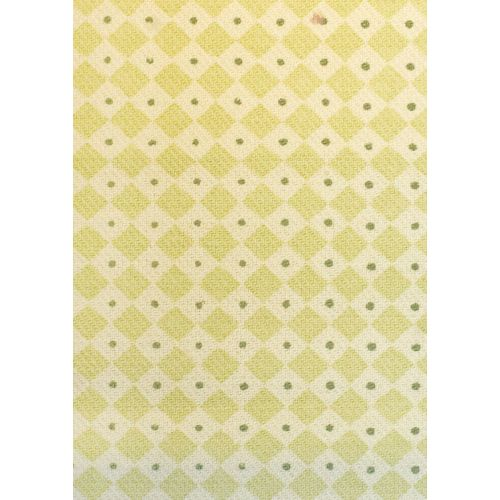 Diamond Dot Linen Fabric