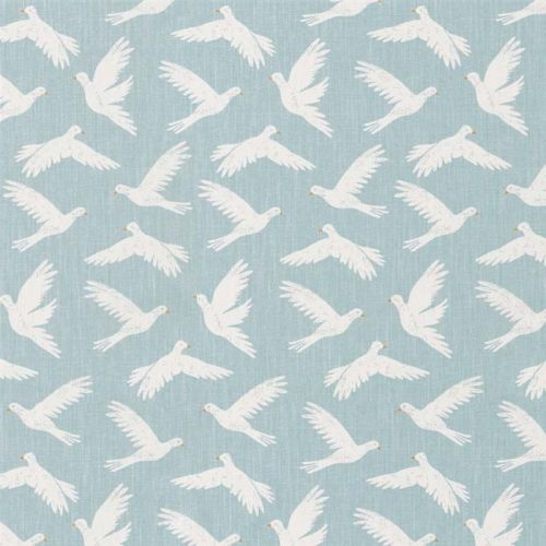 Paper Doves Fabric