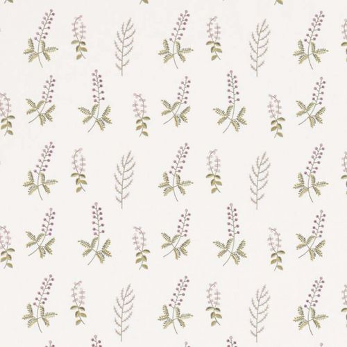 Bilberry Embroidered Fabric