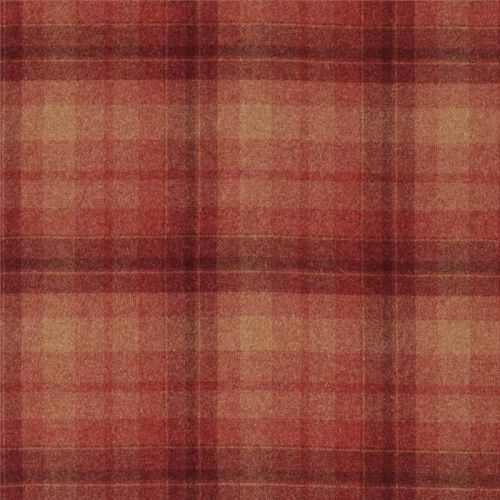 Samphrey Check Wool Fabric
