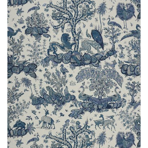 Menagerie Linen Fabric