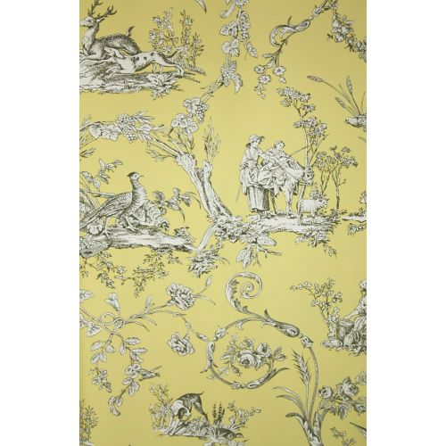 Paysannerie Toile Wallpaper