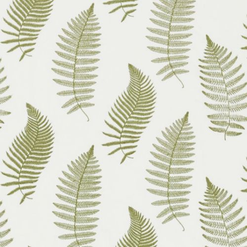Fern Embroidery Fabric