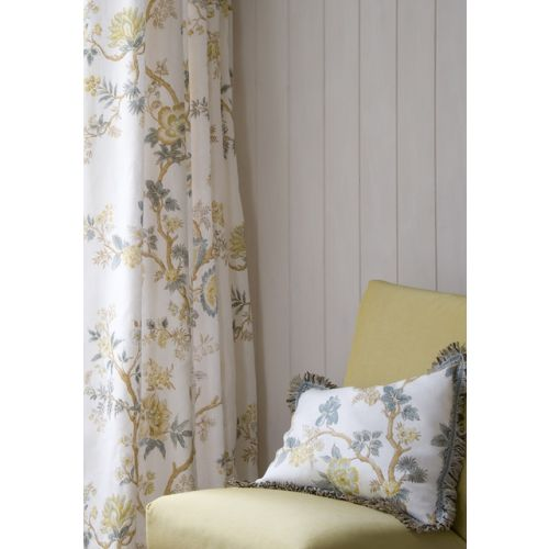 Indienne Floral Linen Fabric