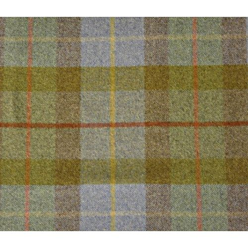 Larch Check Wool Fabric